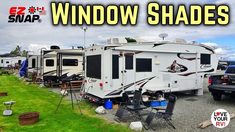 Installing EZ Snap RV Window Shades Feature Photo