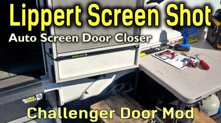 Screen Shot RV Door Closer Installation + Mod for Challenger Door