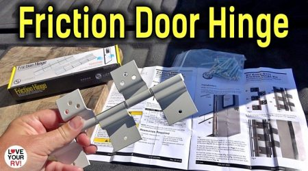 Checking out Lippert RV Entrance Door Friction Hinges