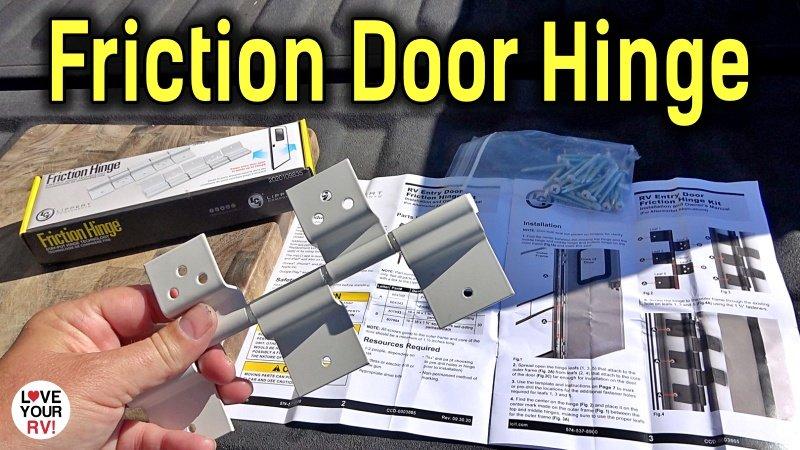 RV Friction Door Hinge Feature Photo