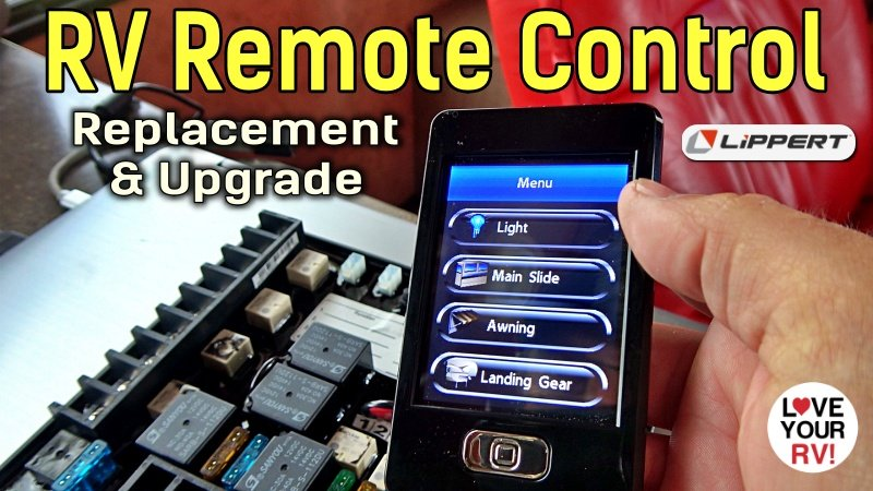 RV Wireless Remote Control Replacement and Upgrade to Lippert Linc 5 Feature Photo