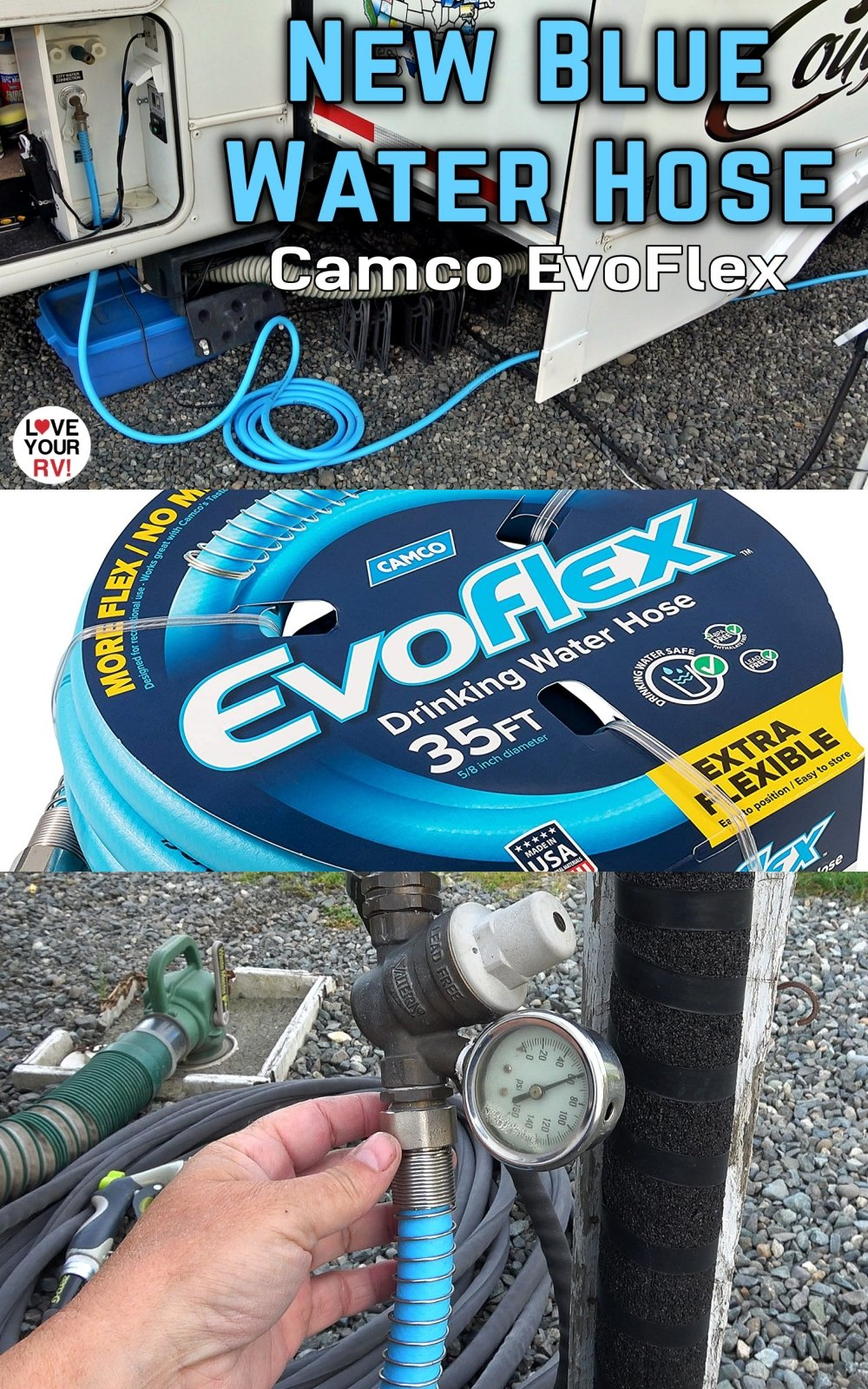 Review of the Camco EvoFlex RV Fresh Water Hose