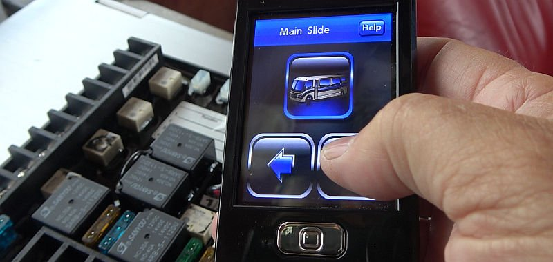 new touch screen remote