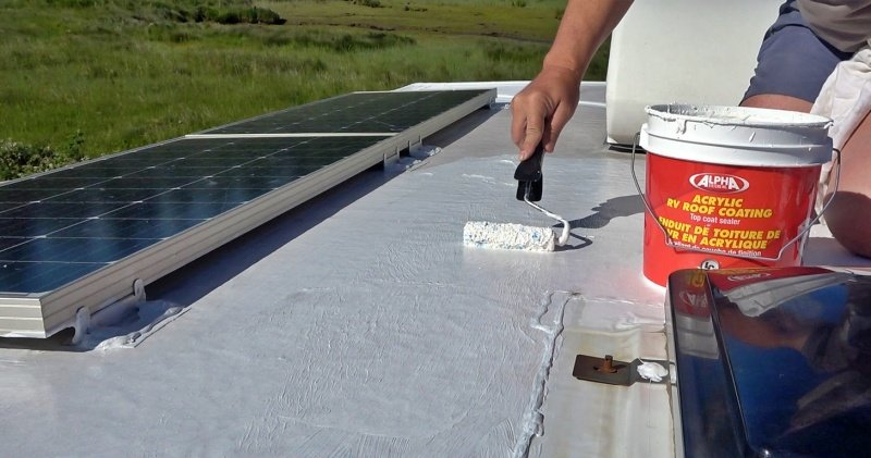 Applying the Alpha Systems Top Coat Sealer
