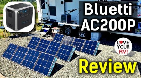 Bluetti AC200P Off-Grid 2000W Portable Power Station Review (Real World Tests!)