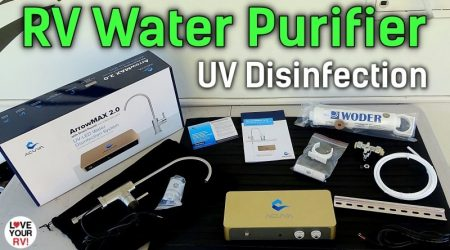 Installing (LED-UV) RV Water Purification System – Acuva ArrowMAX 2.0