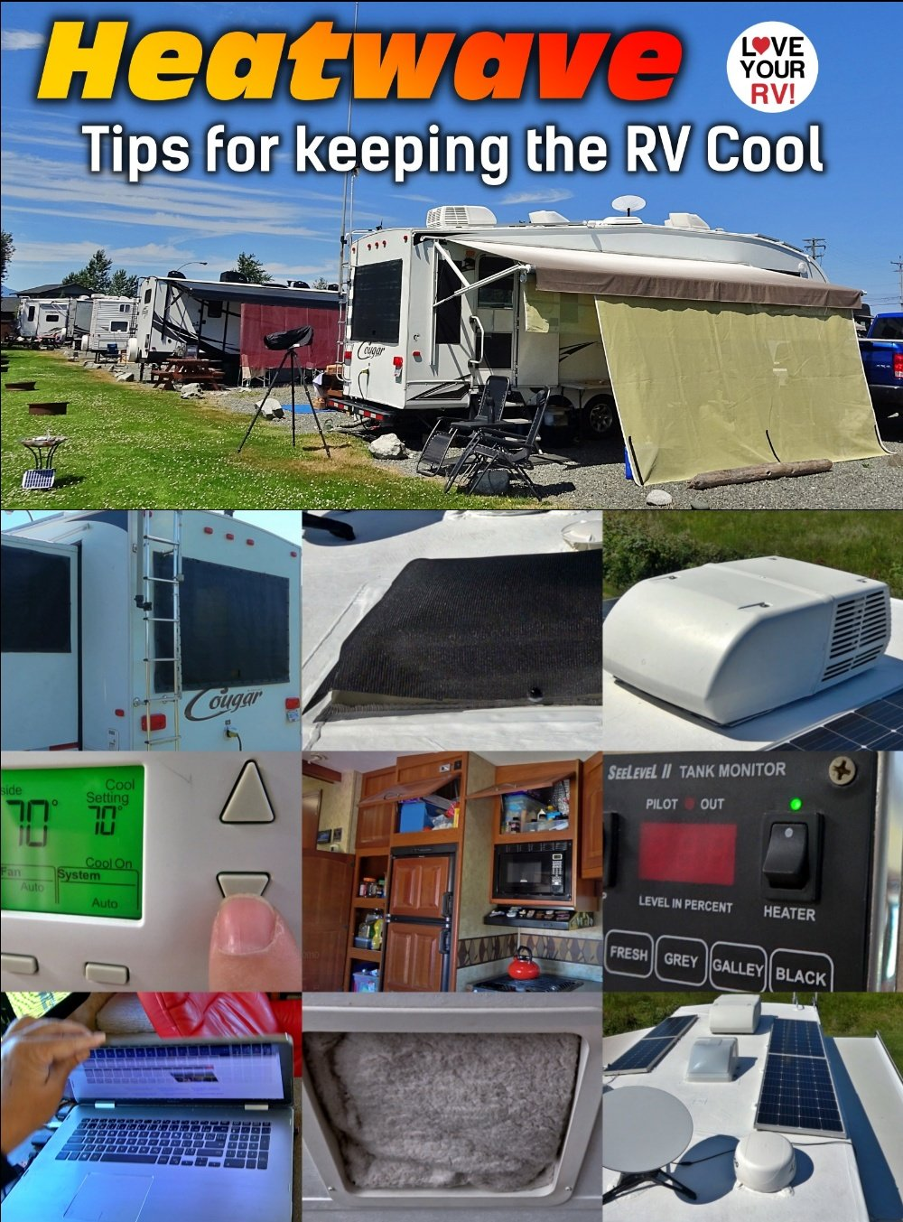 10 Tips for RV Living During a Heatwave