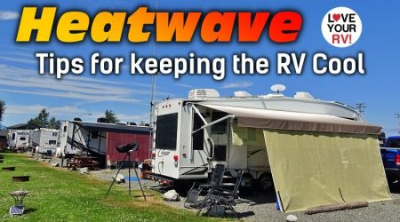 10 Cool Tips for RVing in a Heat Wave with No Shade