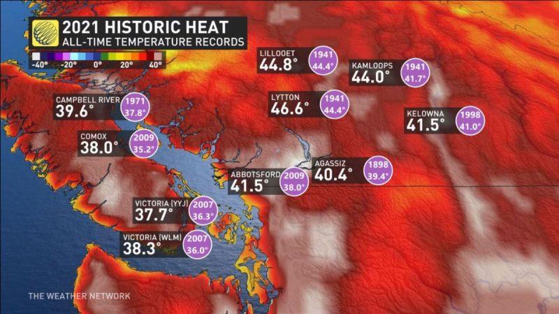 2021 Historic Heat Wave