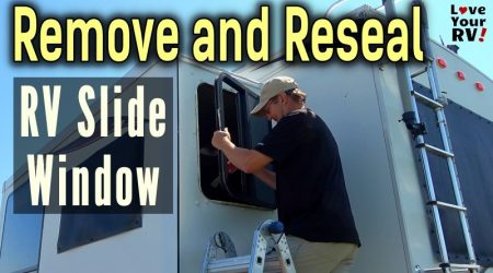 Removing and Resealing RV Slide Out Window