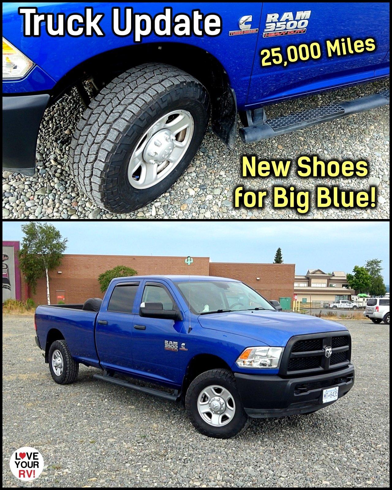 25000 Mile Ram Truck Update - New Cooper Tires & DEF Question