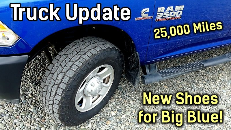 25000 Miles Truck Update feature photo