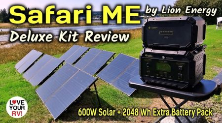 Lion Energy Safari ME Off-Grid Power Station Review – Portable RV/Camping Solution