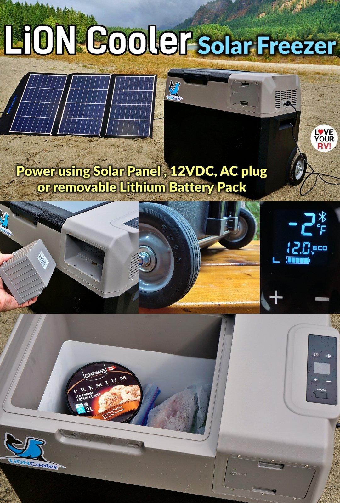 ACOPOWER LiON Cooler Solar Freezer Review