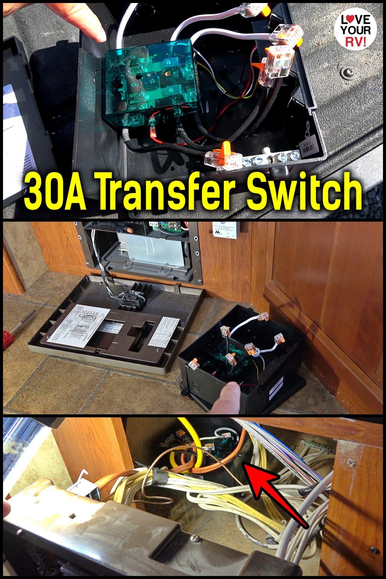 Go Power 30 Amp RV Transfer Switch Installation