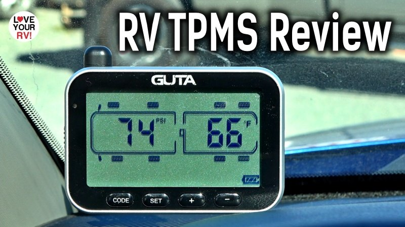 Guta Wireless RV Tire Pressure Monitor System Review Feature Photo