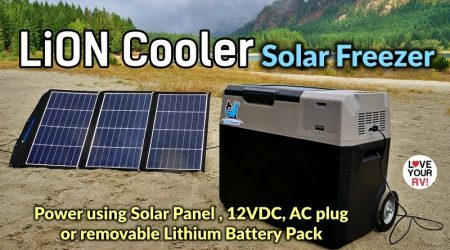 Reviewing the LiONCooler Solar Freezer w/removable Lithium Battery