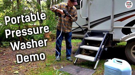 Power Pro Max Portable Pressure Washer – Camping Demo
