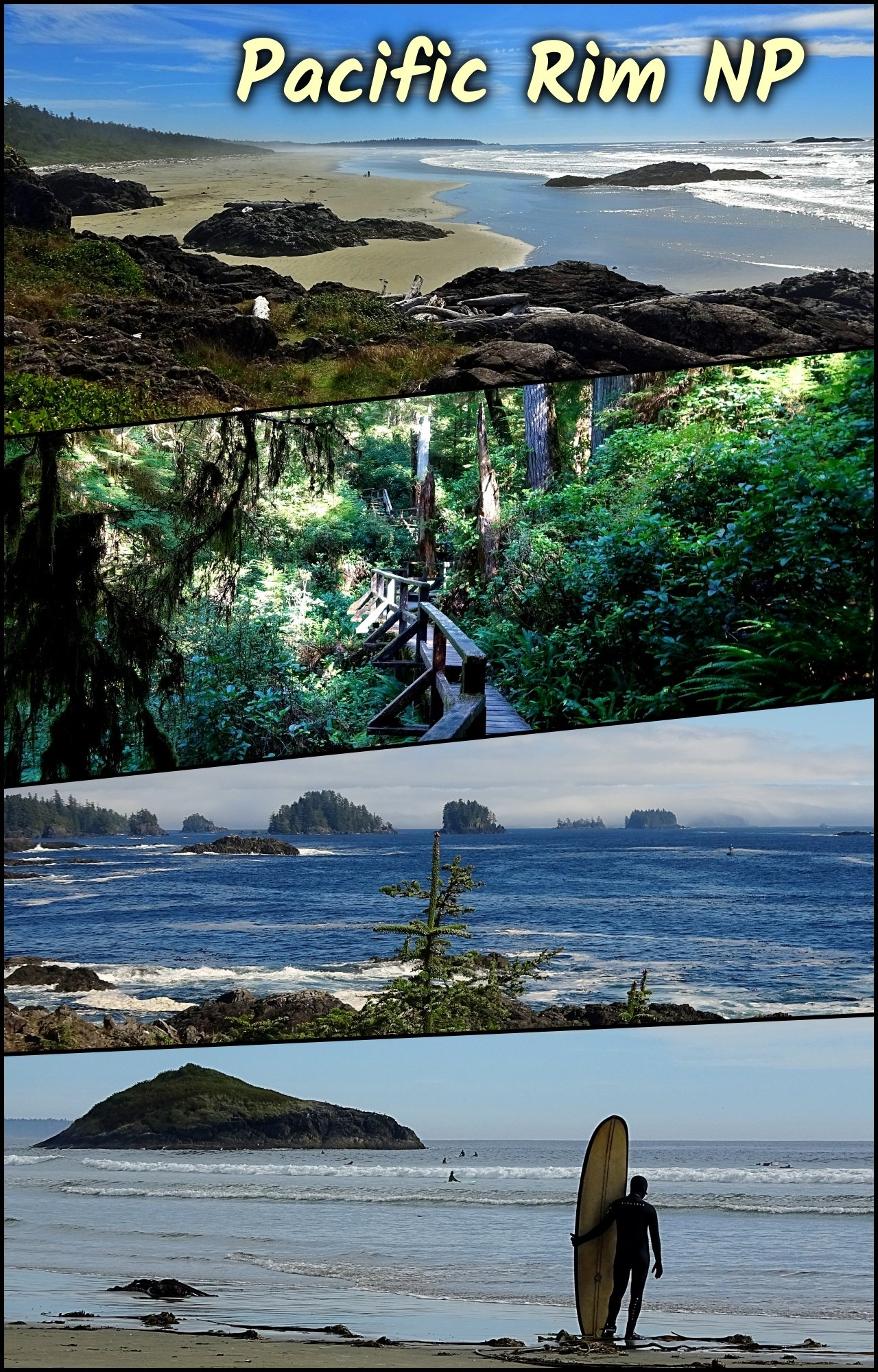 Fall Visit to Pacific Rim National Park, Vancouver Island BC
