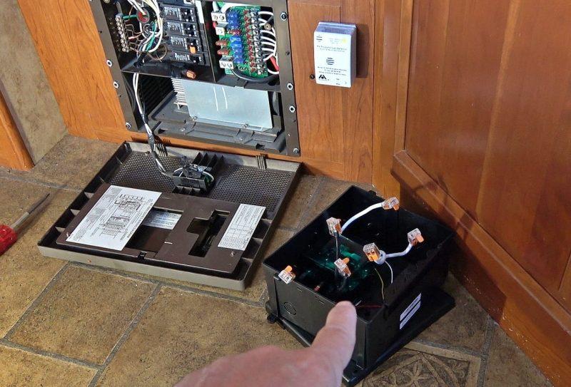 Go Power transfer switch install