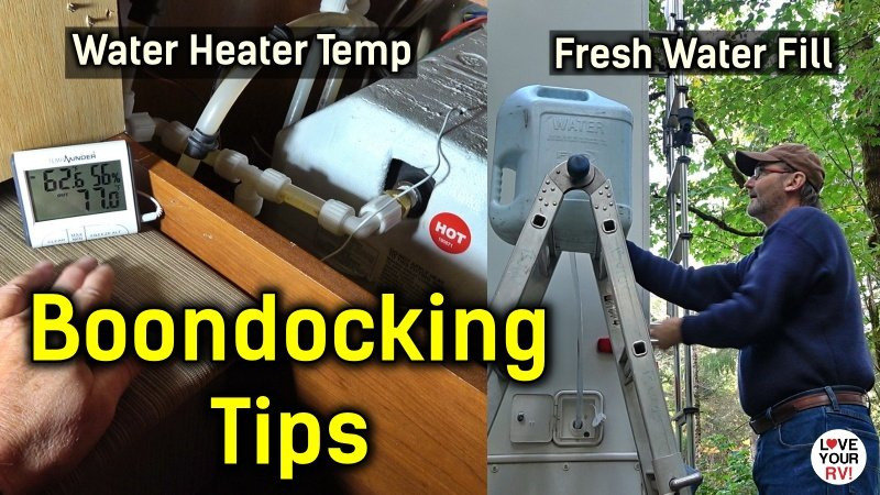 2 Water Related Boondocking Tips Feature Photo