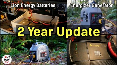2 Year Update – Safari UT1300 Lithium Batteries and Energizer Gas Generator